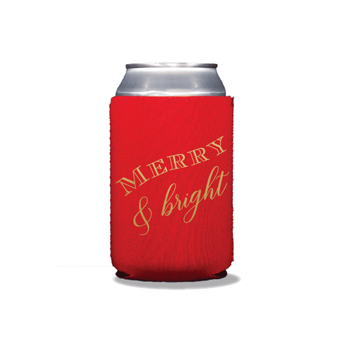 Merry & Bright Can Coolers