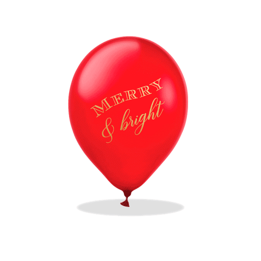 Merry & Bright Latex Balloons