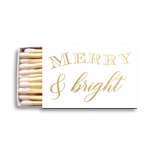 Merry & Bright Matchboxes