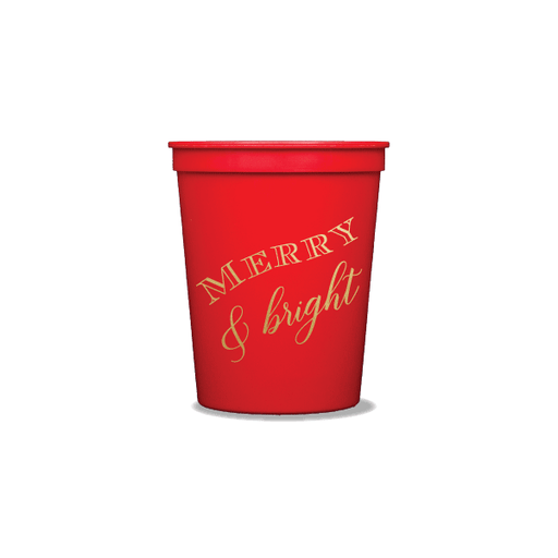 Merry & Bright Party Cups