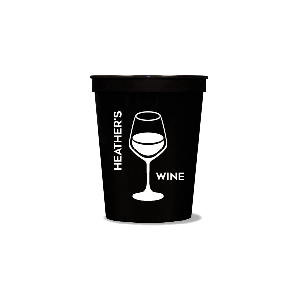 Personalized Wine Party Cups