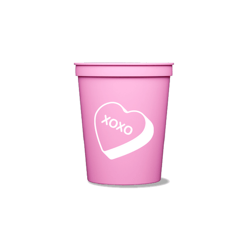 Candy Heart Party Cups