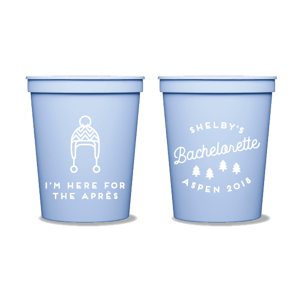 Here for the Après Party Cups