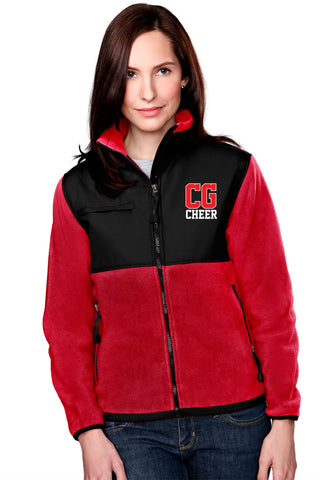 Center Grove Cheer - Fleece Jacket  (Ladies)