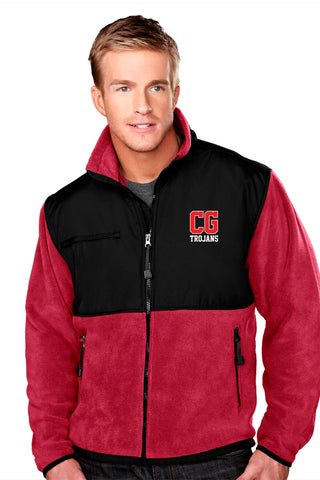 Center Grove Trojans - Fleece Jacket  (Men's)