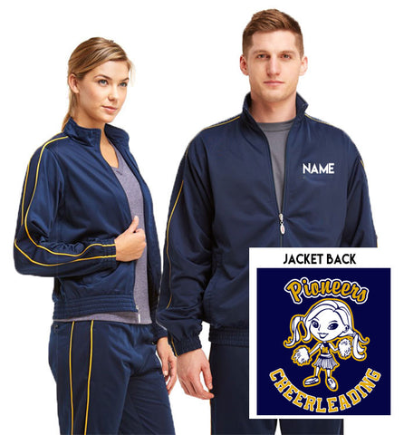 2017 MJFBL Cheerleading WarmUp Jacket