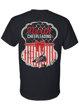 2017 MSN Cheerleading Tee
