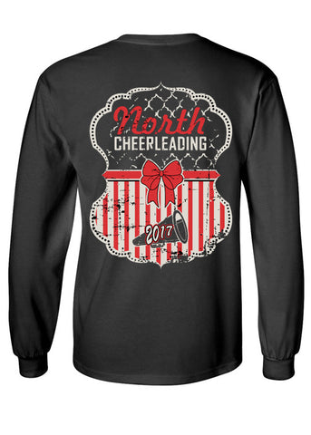 2017 MSN Cheerleading Long Sleeve Tee