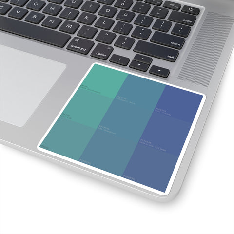Elixir Blue sticker
