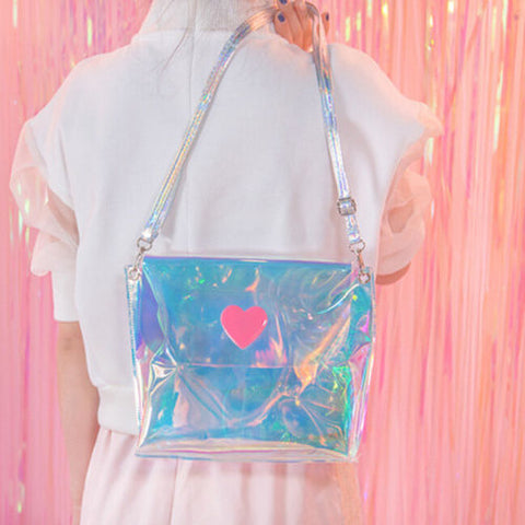 Transparent Holographic Purse