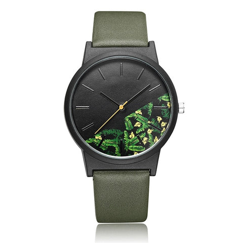 Floral Divide Watch