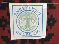 Everything Will Be Ok tree of life banner ewbok