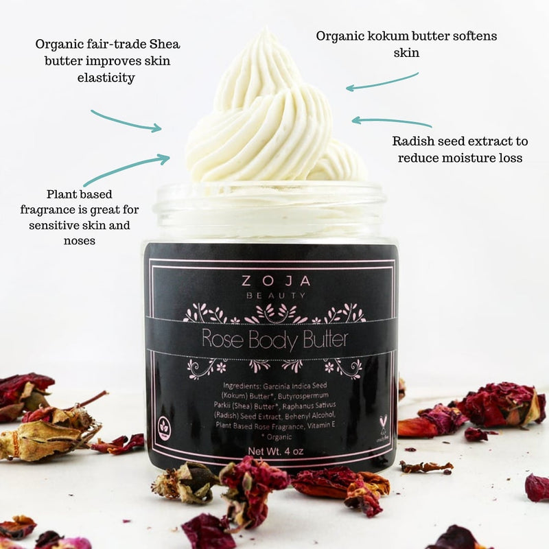 Whipped Rose Body Butter