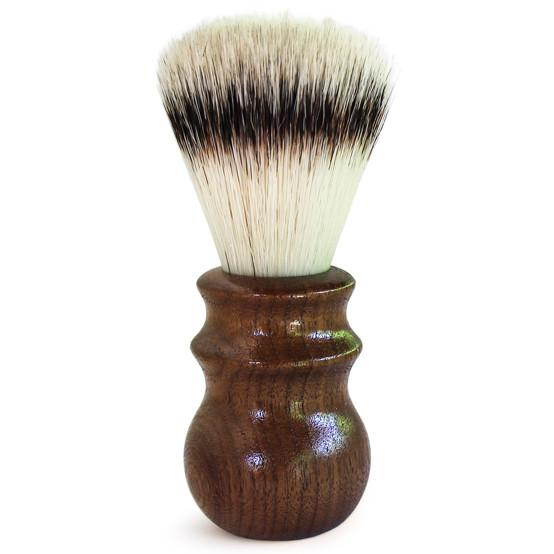 Black Walnut Synthetic Heritage Shave Brush