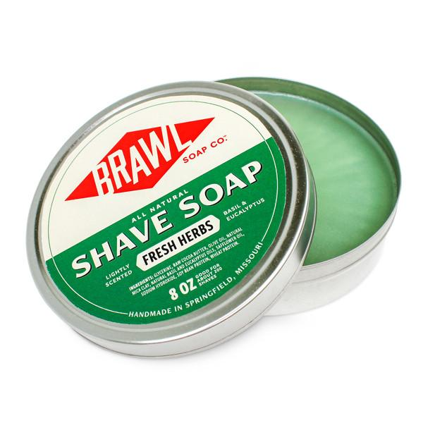 Shave Soap - Fresh Herbs Scent