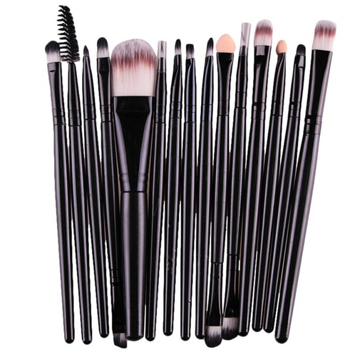 15-PCS Professional Makeup Brush Set
