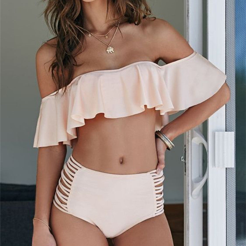 Off Shoulder Bikini Set