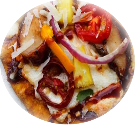 tropical-chicken-bbq-pizza-rounded