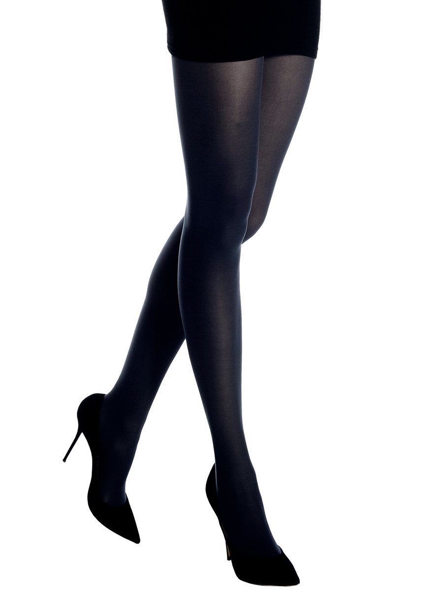 BASIC BARELY OPAQUE TIGHTS T1176 NAVY