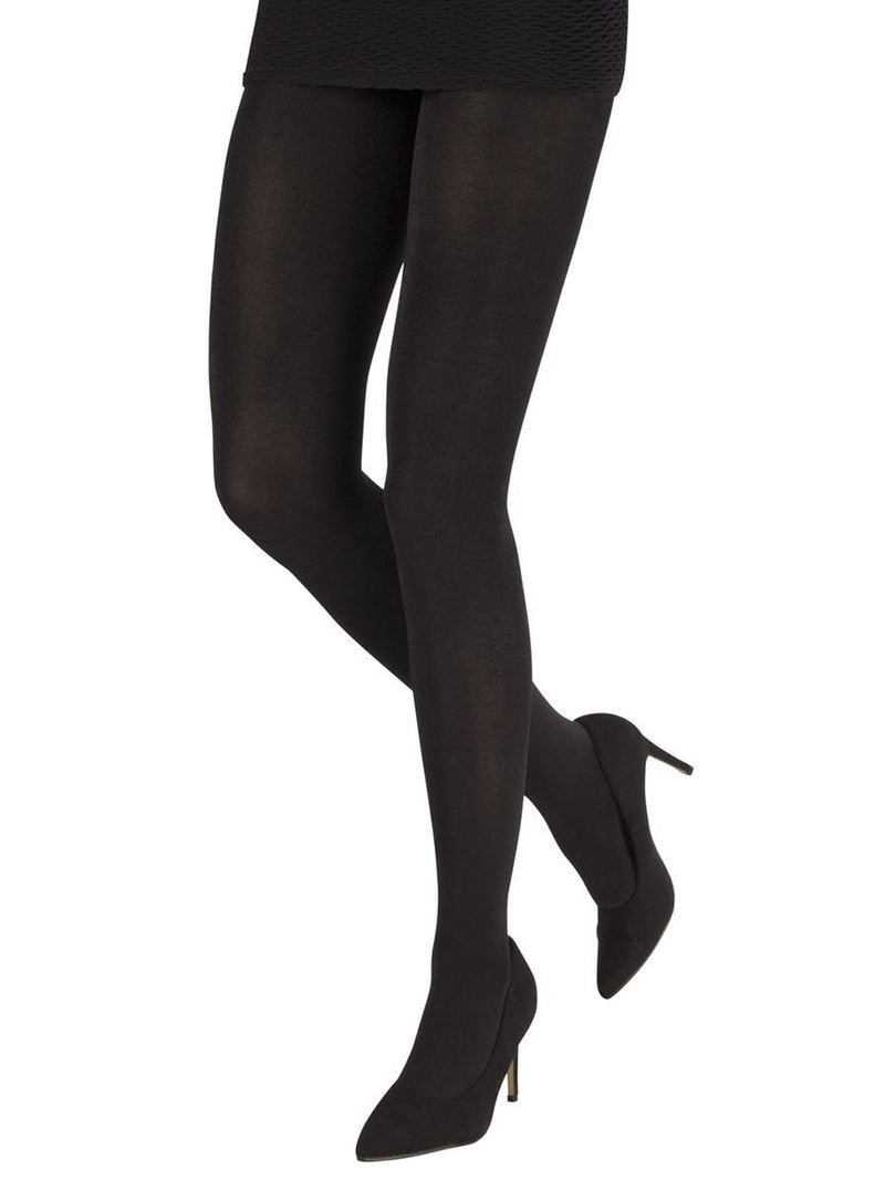 Shiny wet Looking Black Tights 200 Denier