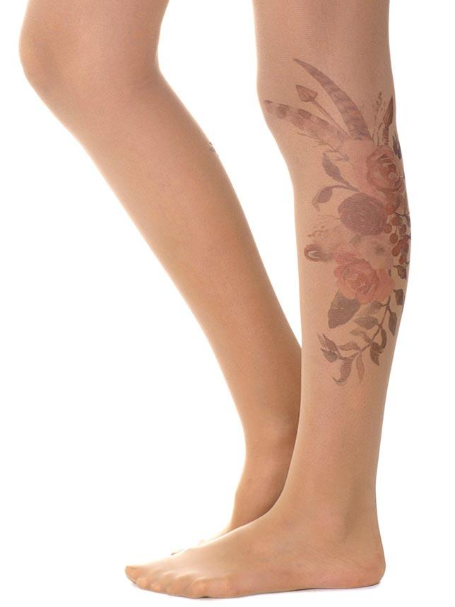 Flower Bouquet Sheer Tights