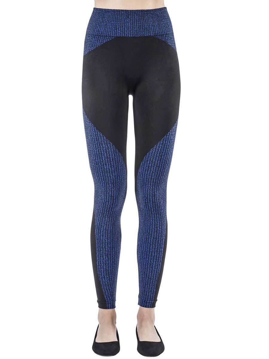 Tecno Textile Blue Leggings
