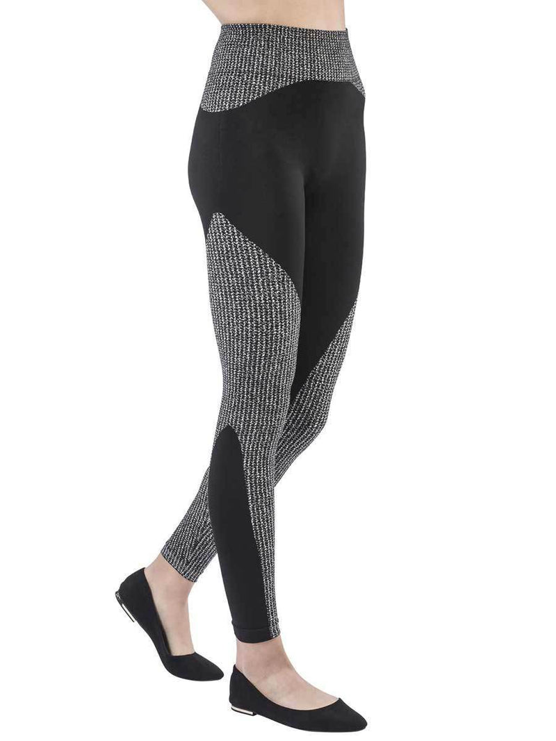 Tecno Textile Black&White Leggings