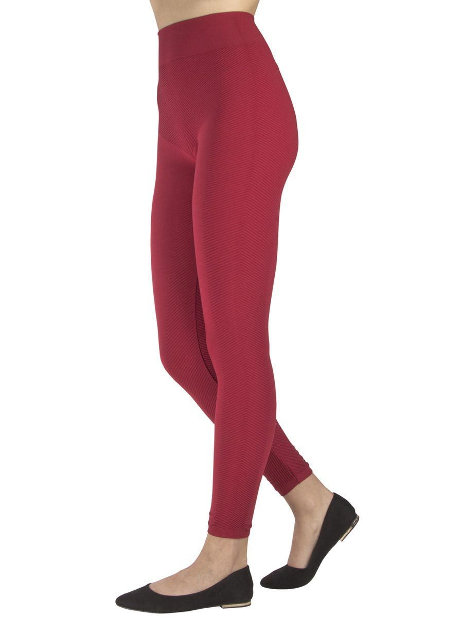 Sporty Side Red Leggings