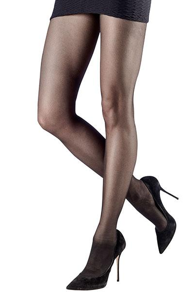 Basic Micromesh Black Sheer Tights