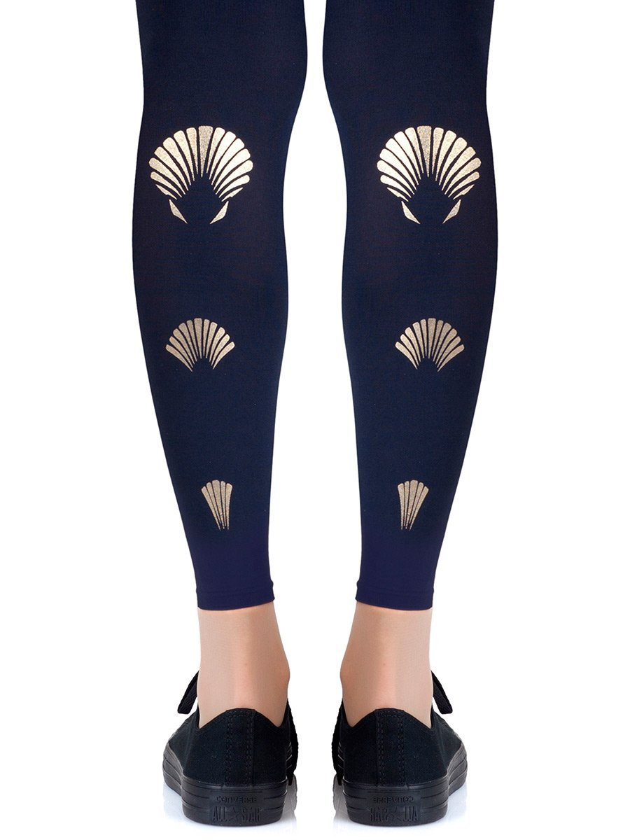 What The Shell Footless Tights
