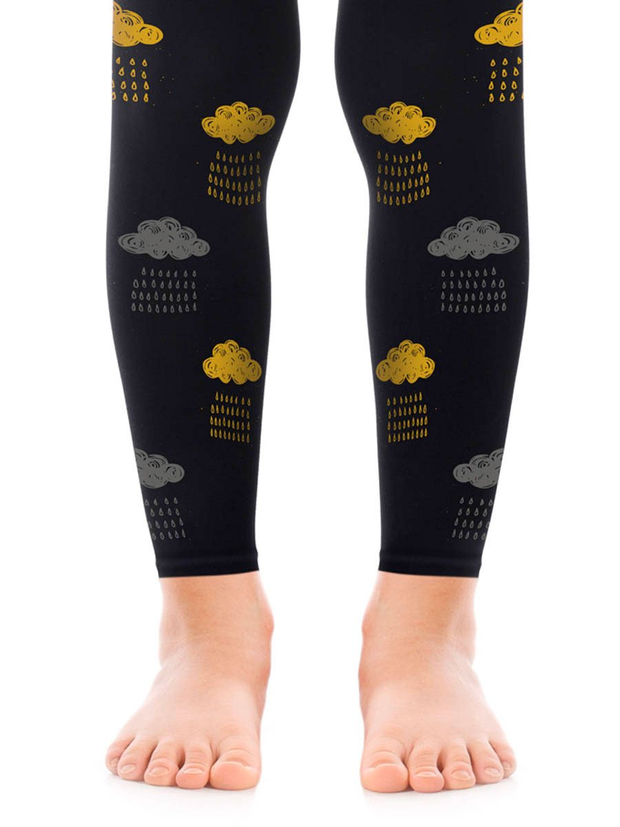 Rain Check Girls Footless Tights