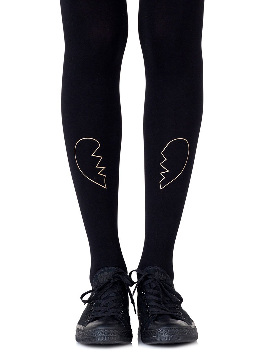 Heartbreaker Gold Tights