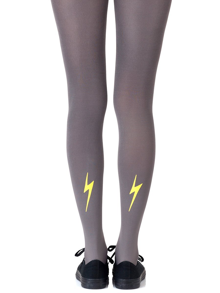 Electric Feel Yellow Tights