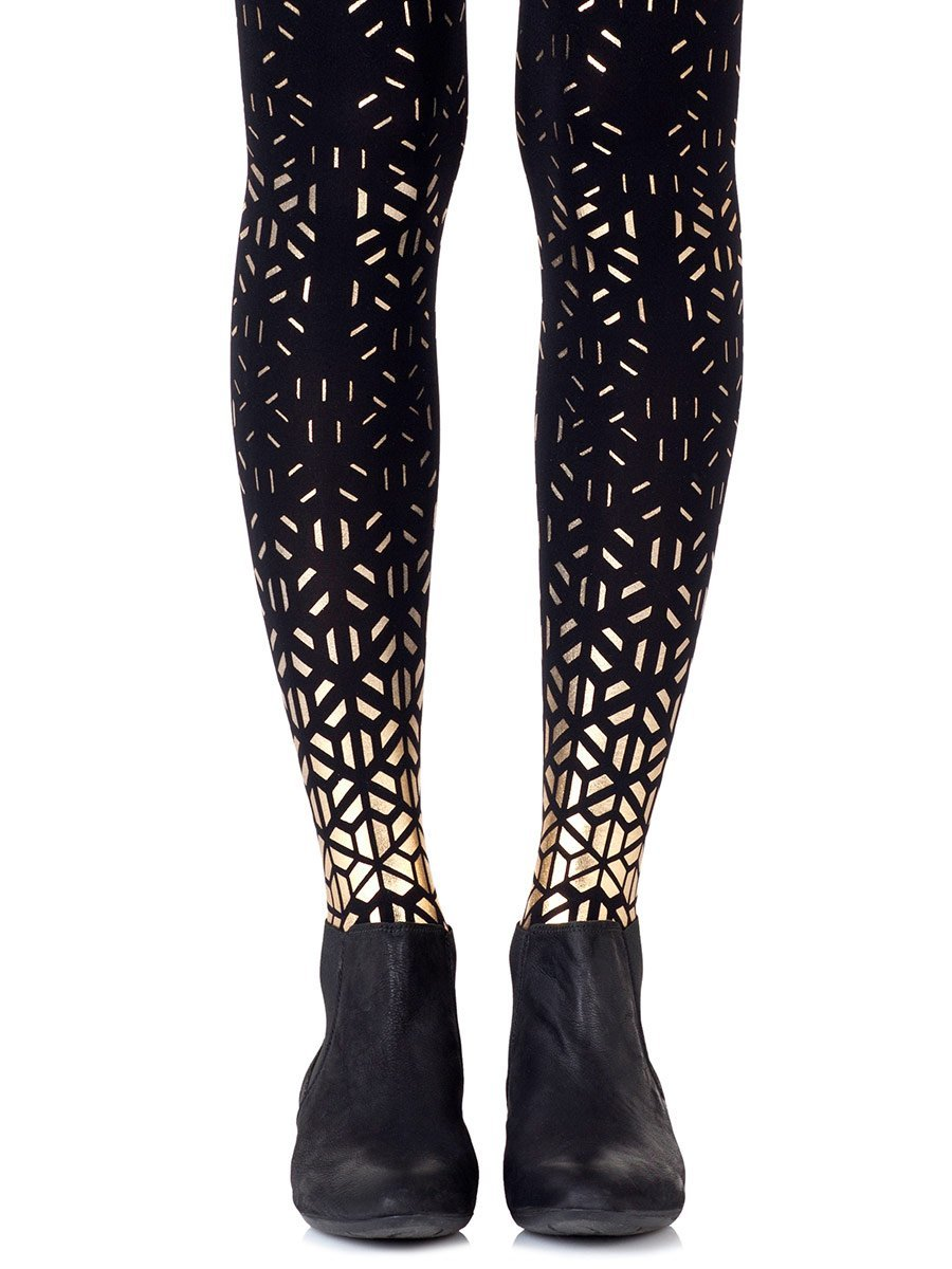 Shape Up Gold Tights