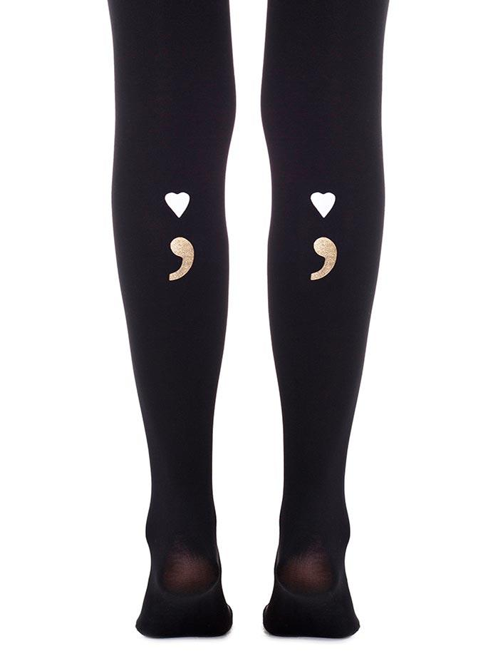 Possessive Lover Black Tights
