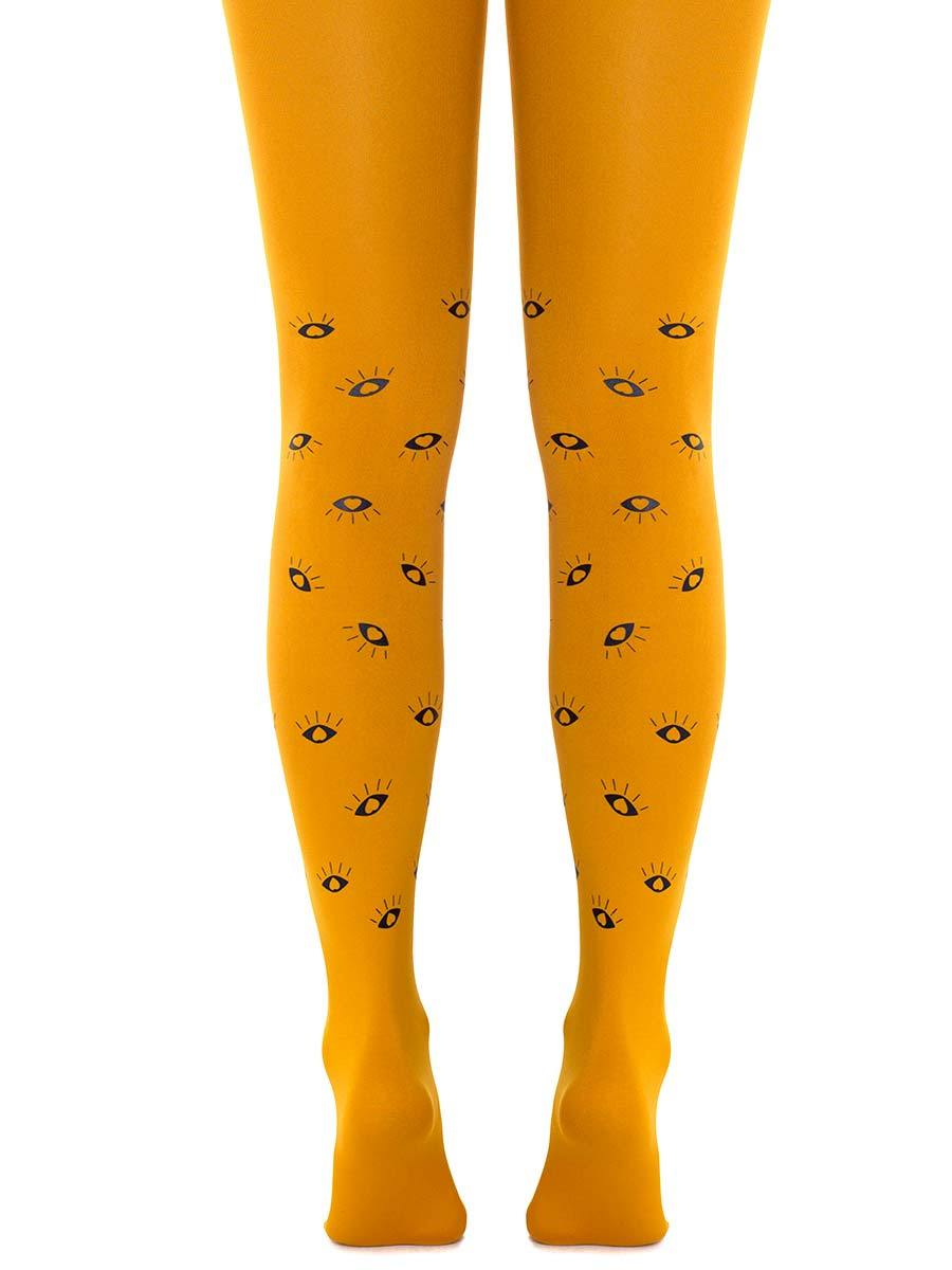 All Eyes on Us Mustard Tights