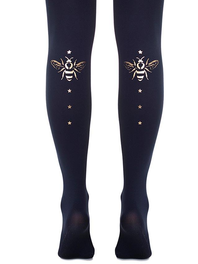 Fly Away with Me Navy Tights