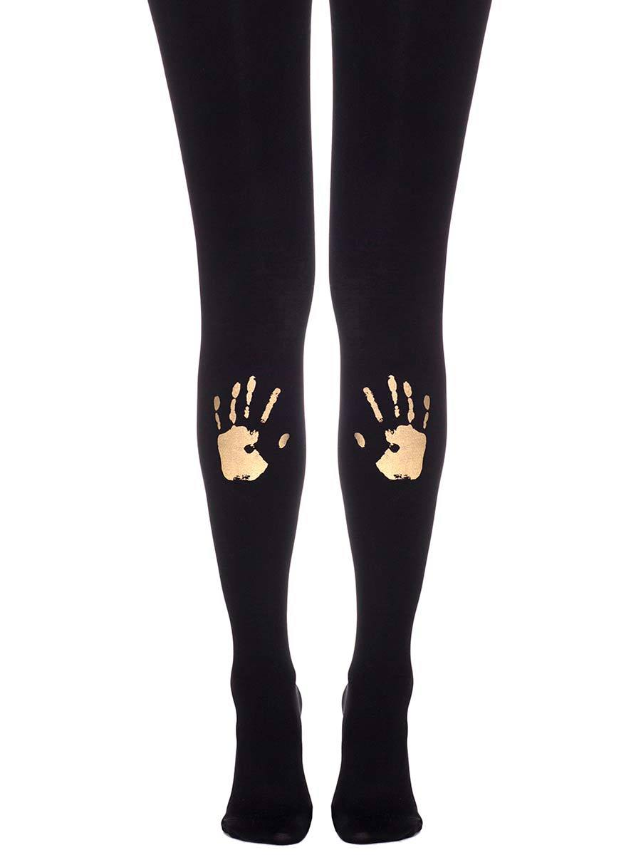 Hi-Five Black & Gold Tights
