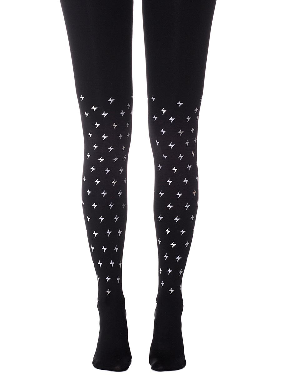 Thunder Storm Black  Tights