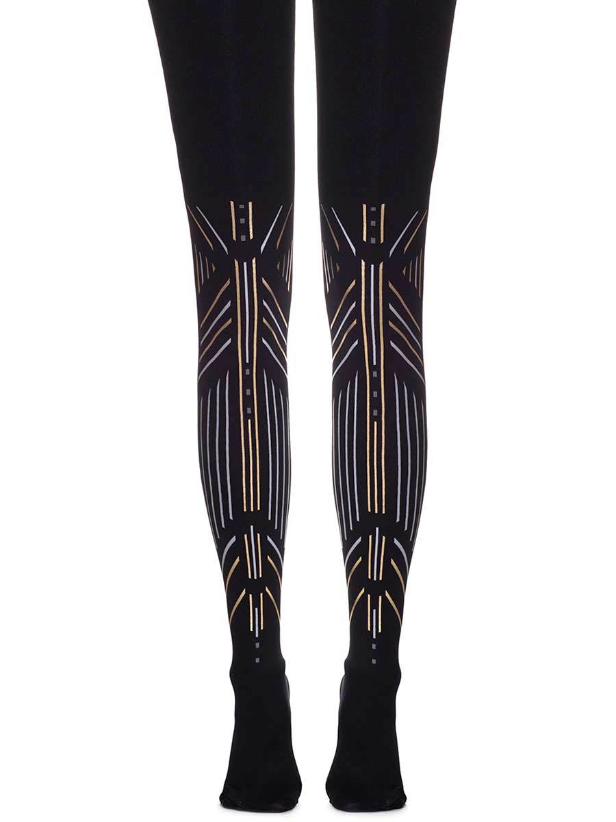 Walk Like an Egyptian Black Tights