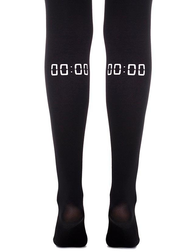 Ground Zero Black Tights