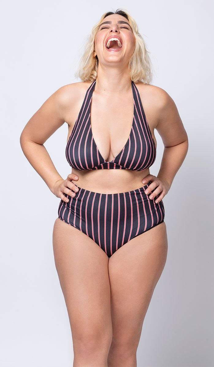 Chelsea Retro High-waist Bikini Bottom