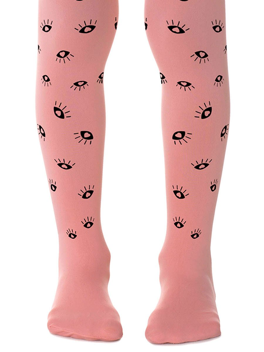 All Eyes on Us Pink Girls Tights