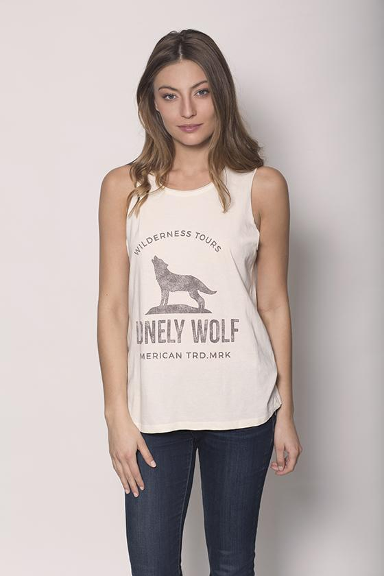 Lonely Wolf Tank