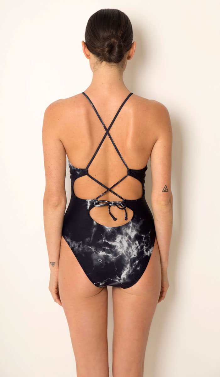 Granite Strappy One-Piece