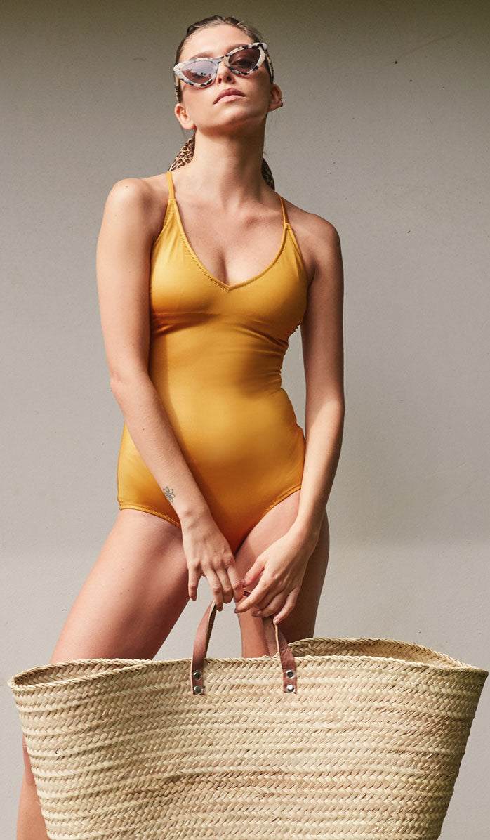 The FARRAH Bronze One Piece