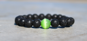 "Green ""Radiant Love"" Bracelet"