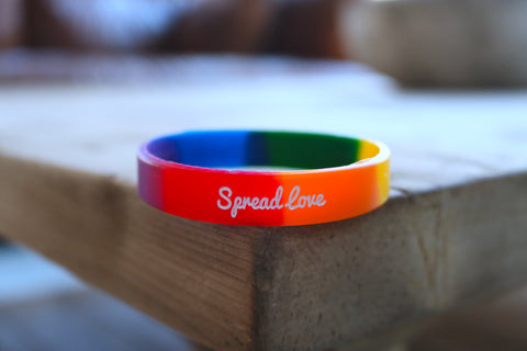 Spread Love Rainbow Bracelet
