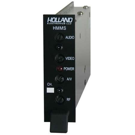 Holland Electronics HMMS Micro Modulator 45 dB For Hospitality Head End Cable/Satellite Television Systems