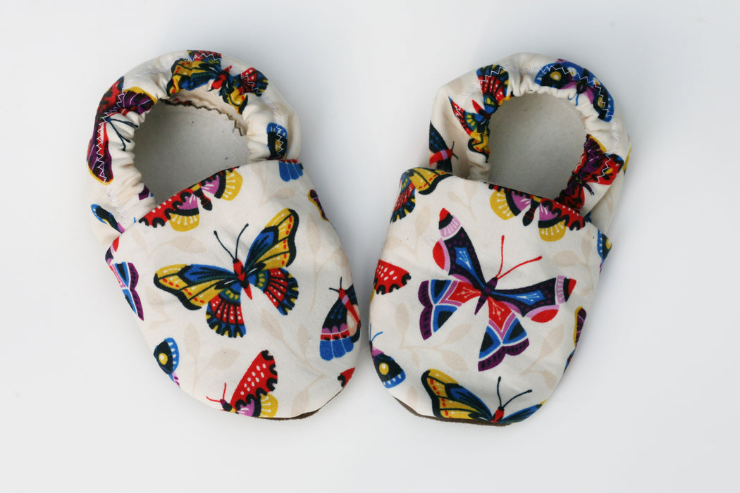 Growing Up Wild - Butterfly Baby Shoes